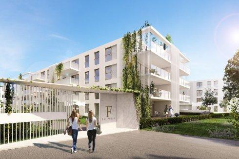 Budynki mieszkaniowe Futuria 4